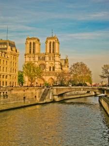 Avontuur coach in Parijs Notre Dame